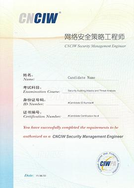 网络安全策略工程师