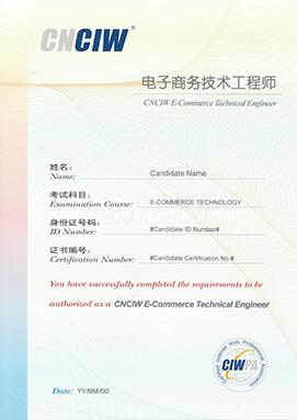 电子商务技术工程师